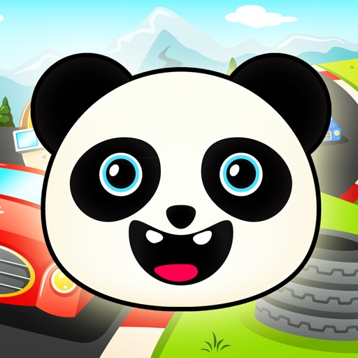 Panda Go Kart Express Rally - FREE - Jump Turbo Speed Racing Obstacle Course iOS App