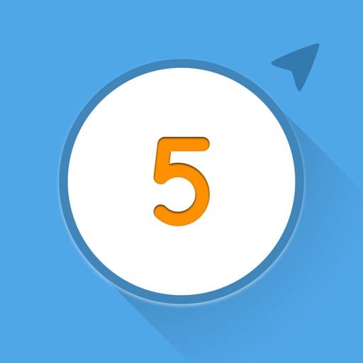 Just Five iOS App