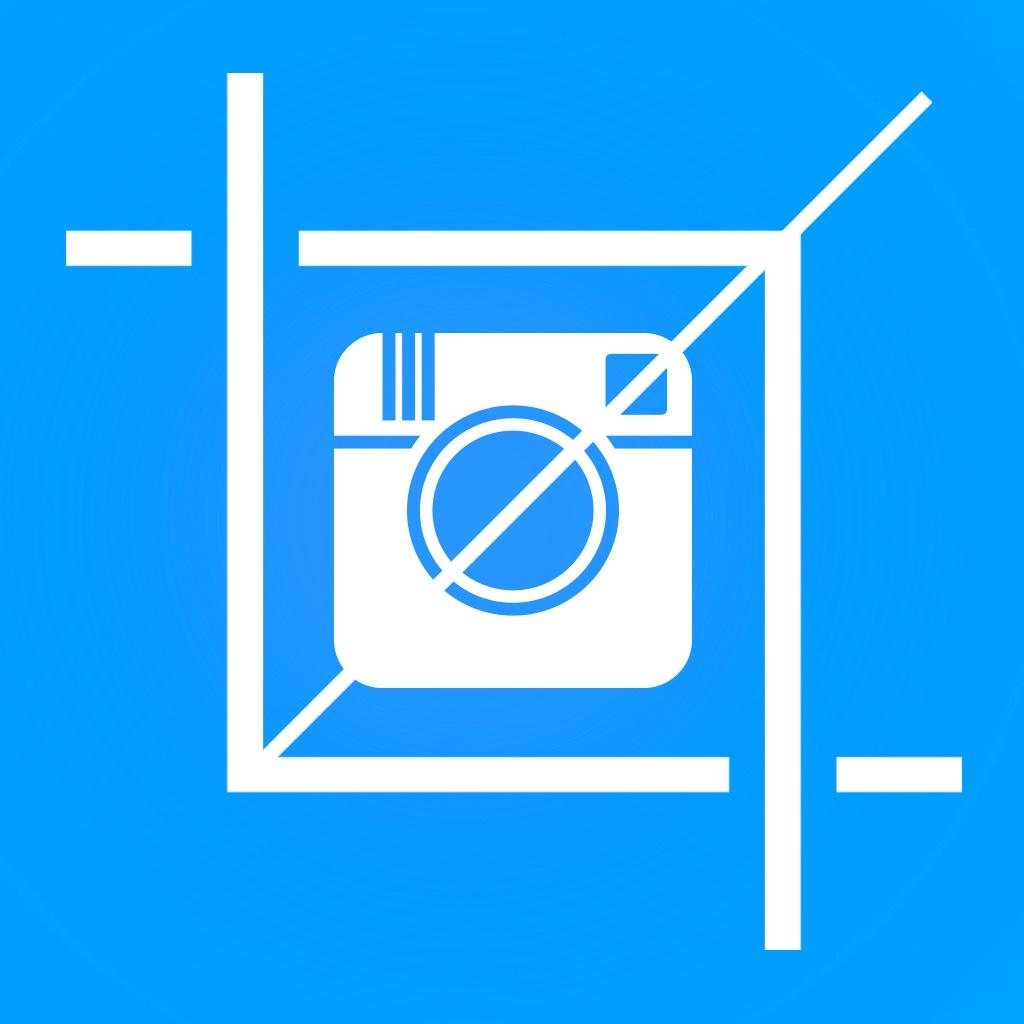 方形尺寸照片的instagram - 添加白色边框,形状,框架和覆盖到图片