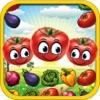 野菜ブラストマニア - ヒットファーム野菜クラッシュヒーローズゲーム無料スマッシュ