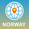 Norway Map - Offline Map, POI, GPS, Directions norway map