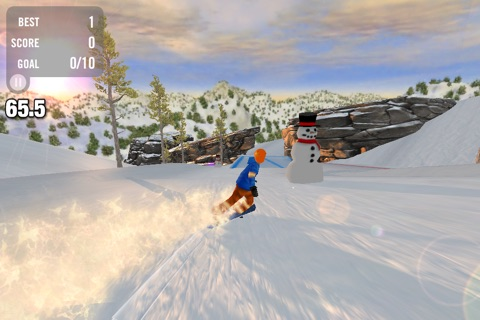 Crazy Snowboard Free screenshot 4