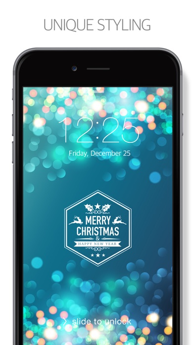 Winter & Christmas Free ( New Wallpaper & Backgrounds Themes ) Screenshot