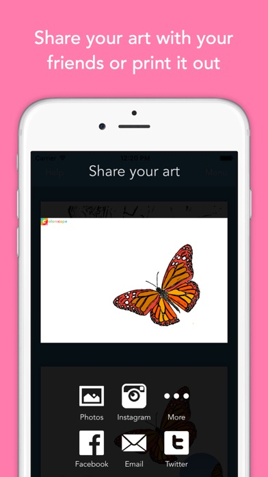 Coloring Pages App For Ipad : Colorscape turn your photos into coloring pages on the
