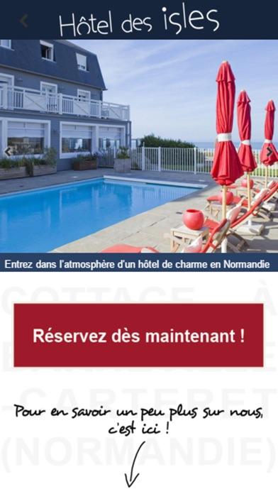 Capture d'écran de Hôtel des Isles2