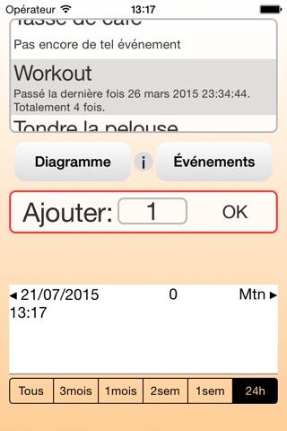 HabitXplore screenshot 1