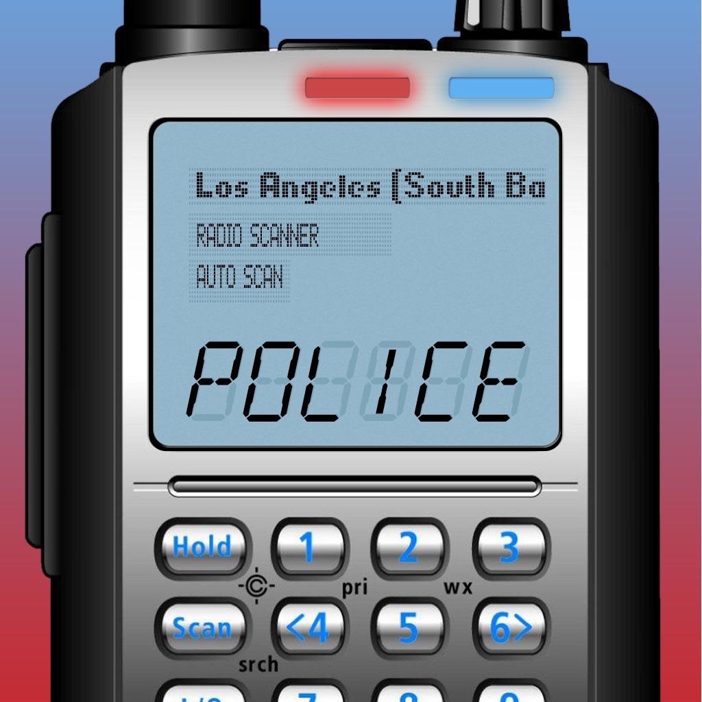 5-0 Police Radio Scanner