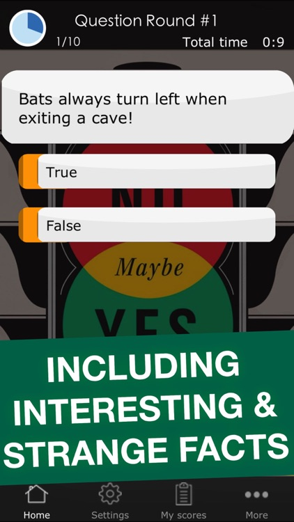 True or False Challenge - Funny Science Quiz Trivia Game App for Kids and  Adults by Manuela Puder