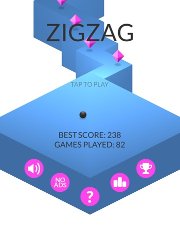 Screenshots of ZigZag for iPad