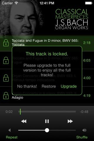 Bach: Organ Works screenshot 3