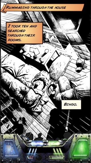 This Is Not a Test: A Survival RPG Comic Screenshot