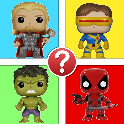 Comic Book Character Pic Quiz - FunkoPop Marvel Characters Edition Icon