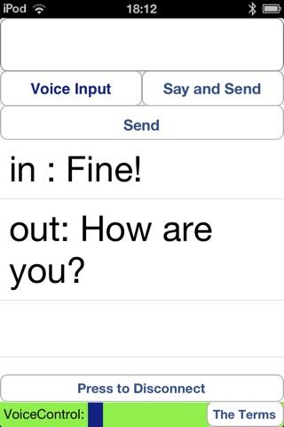 Deaf Hearing Chat screenshot 3