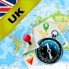 イギリス(UK)、イングランド、スコットランド、アイルランド - オフライン地図&GPSナビゲ