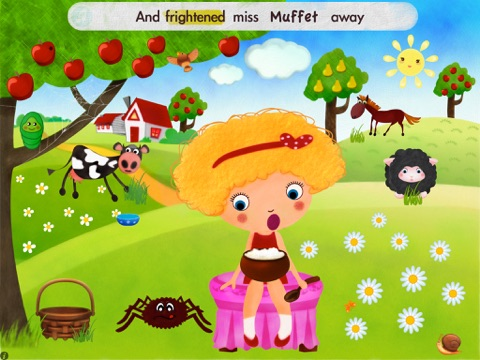 Little Miss Muffet HD screenshot 2