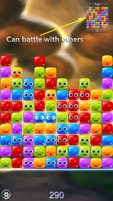Crush the Jelly - Popping Battle Screenshot