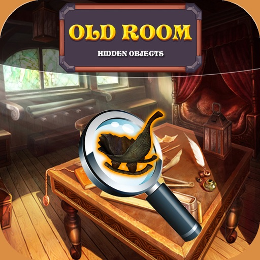 Free Hidden Objects Game : Old Room iOS App