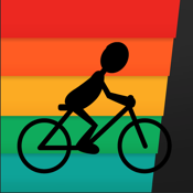 iBiker | Biking Workout & Route Tracker | Heart Rate Training | Indoor Cycling, Mountain Bike Fitness | Multi-Sport, Activity, GPS & Map Tracking icon