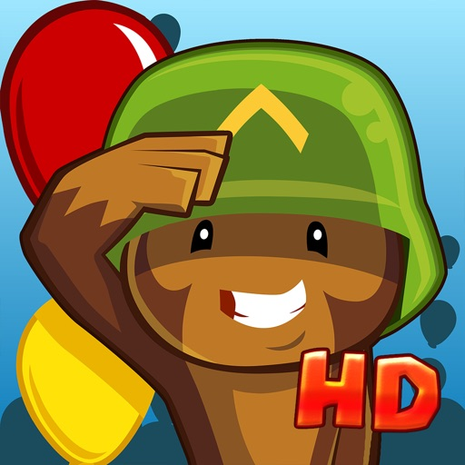 Bloons TD 5 HD app for ipad