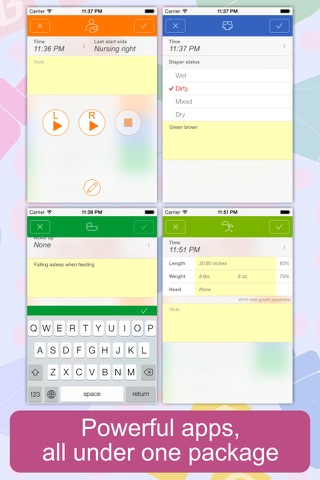 Baby Tracker - Newborn Log screenshot 3