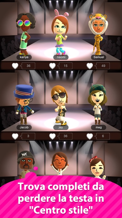 Screenshot of Miitomo4
