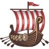 Autocollants Viking Pour Jour Leif De Erikson