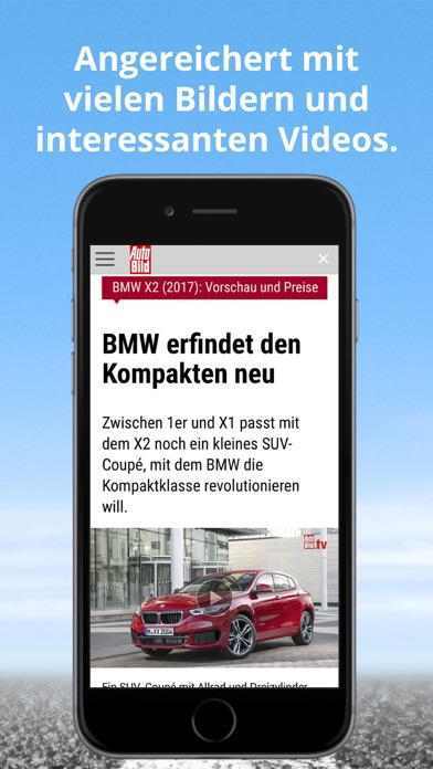 Auto Bild review screenshots