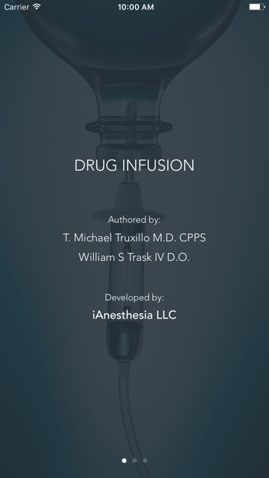 Drug Infusion - IV Med Drip Rate Calculator Screenshot