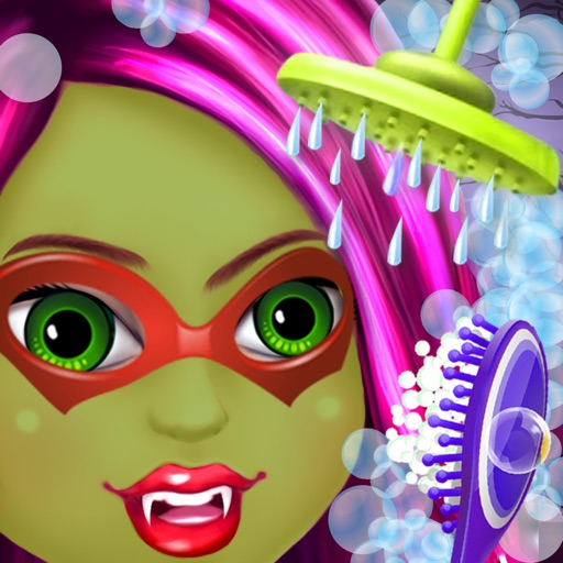 Halloween Baby Bath Spa Salon - Halloween Games For Girls iOS App