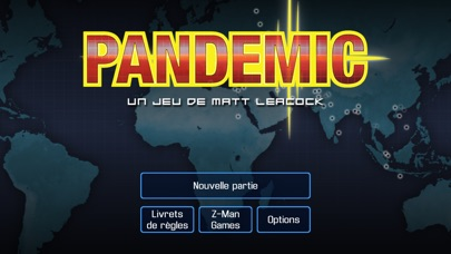 Screenshot Pandemic: The Board Game