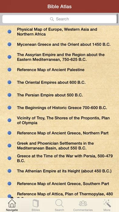聖書研究と179聖書アトラスマップ screenshot1