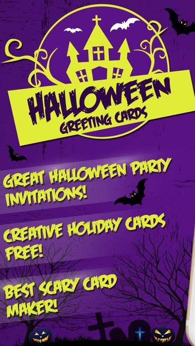 Halloween greeting cards best invitation maker on the app store iphone screenshot 1 stopboris Gallery