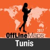 Tunis Déconnecté carte et guide de voyage