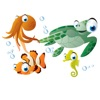 Poisson Autocollants Stickers