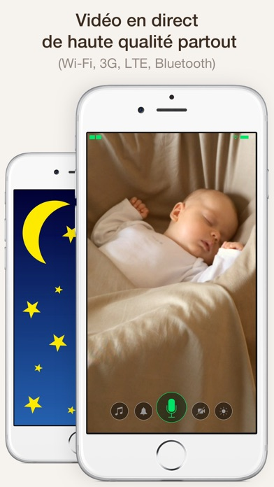 Screenshot Cloud Baby Monitor