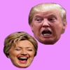 Hillary Clinton vs Donald Trump hillary clinton bill kiss