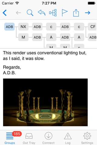 NewsTap (Usenet Newsreader) screenshot 1