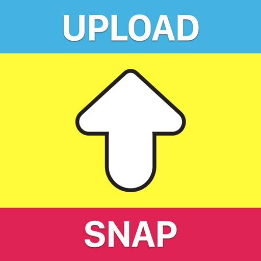 SnapUpload - Upload photos from your camera roll iOS App