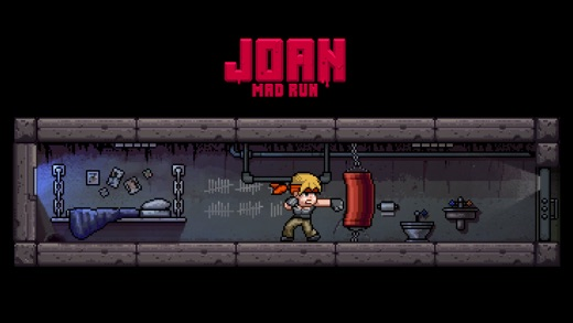 Joan Mad Run Screenshot