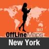 New York Offline Karte und Reiseführer