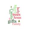 Create Custom Christmas Word Clouds