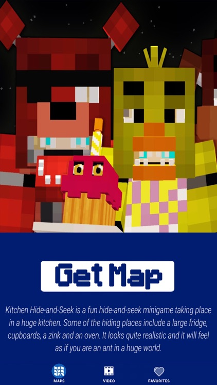 FNAF MAPS for Minecraft PE - The Best Maps for Minecraft Pocket
