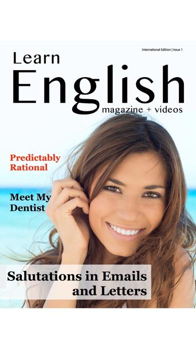Screenshot for Learn English Magazine in United Arab Emirates App Store