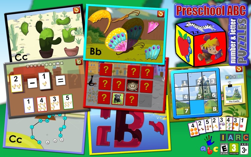 Preschool abc number and letter puzzle game app download for Number and letter puzzles