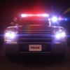 Police Siren and Flash Lights Red/Blue