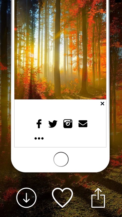 download Wallpapers Themes- Custom Lock Screens,Backgrounds apps 1