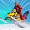 SnowMobile Stunt Trail - Snow Mobile Stunt Games