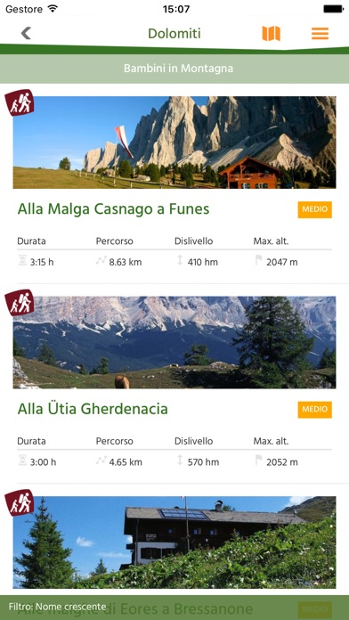 Alto Adige/Südtirol Trekking Guide Screenshot