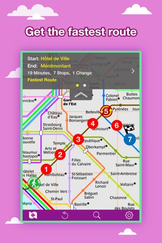 Paris City Maps - Discover PAR with Metro & Bus screenshot 2