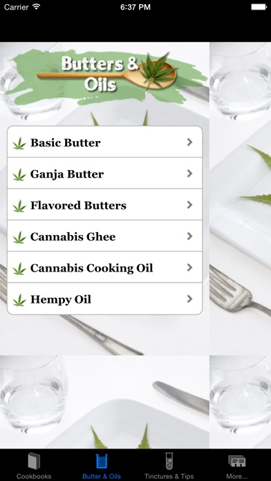 Mega Marijuana Cookbook - Cannabis Cooking & Weed Screenshots